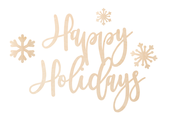 Happy Holidays Overlay