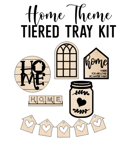 HOME Theme - Tiered Tray Kit