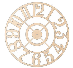 "24"" Decorative Clock Kits - One Piece"