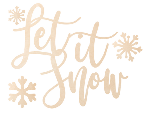 Let it Snow Overlay