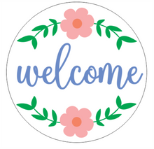 Load image into Gallery viewer, Floral Entry Signs - Hello / Welcome