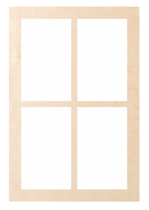 "Window - Rectangle 4 Pattern ""Esther"""