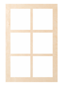 "Window - Rectangle 6 Pattern ""Ida"""