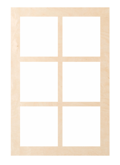 Window - Rectangle 6 Pattern