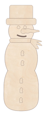 Load image into Gallery viewer, Snowman - Skinny