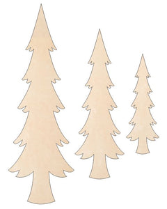 Christmas Trees - Skinny Trio