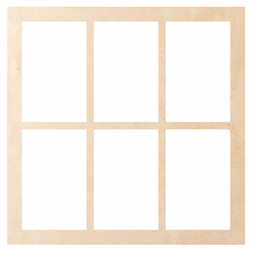 Window - Square 6 Pattern