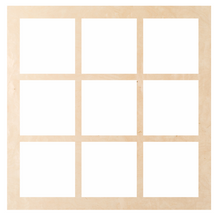 "Load image into Gallery viewer, Window - Square 9 Pattern ""Lillian"""