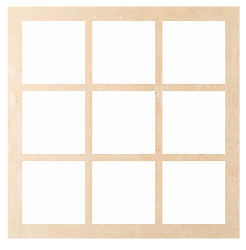 Window - Square 9 Pattern