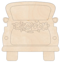 Load image into Gallery viewer, Truck with Carved Designs