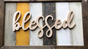 Layered Pallet Sign Kit