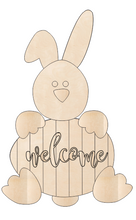 Load image into Gallery viewer, Bunny with Welcome Egg