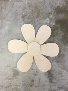 Shabby Chic Flowers - Round Petals