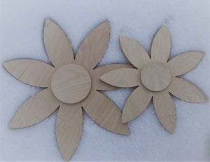 Shabby Chic Flowers - Pointy Petals