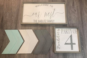 Framed Sign Blanks - MDF Backers