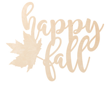 Load image into Gallery viewer, Happy Fall Overlay