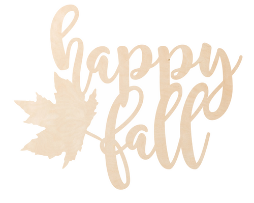 Happy Fall Overlay