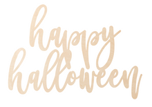 Load image into Gallery viewer, Happy Halloween Overlay