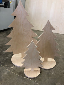 Christmas Trees - Fat Trio