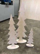 Load image into Gallery viewer, Christmas Trees - Skinny Trio
