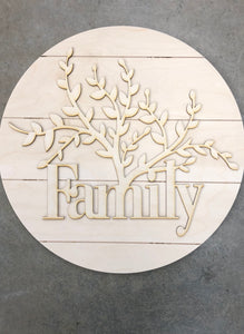 Growing Family Tree