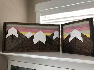 Mountain Pallet Signs