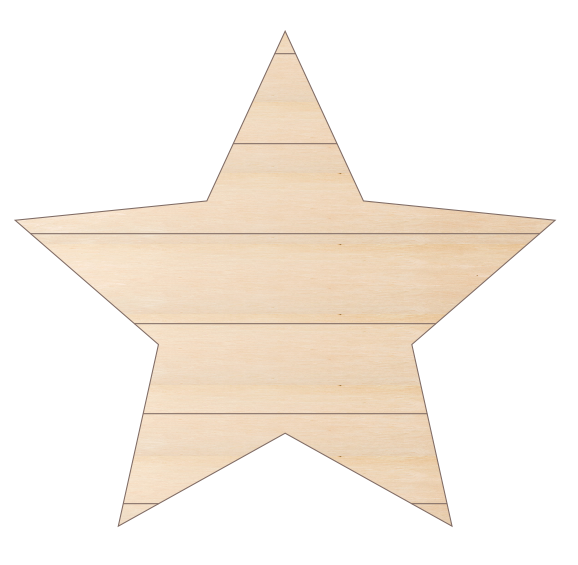 Star with False Pallet Lines