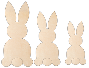 Bunny Trio (Set of 3)