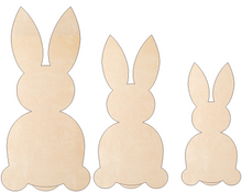 Load image into Gallery viewer, Bunny Trio (Set of 3)