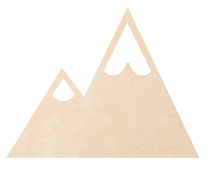 Two-Point Mountain Scape