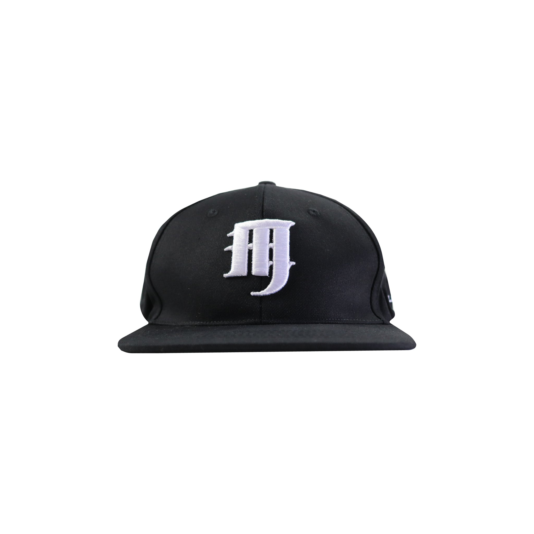 'M' LOGO 6-PANEL CAP (BLACK)