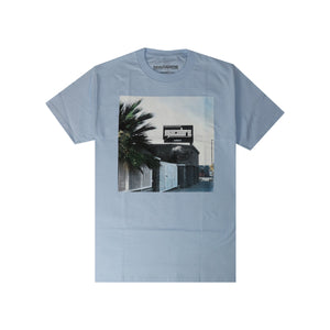 HERE TO STAY T-SHIRT (POWDER BLUE)
