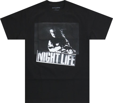 NIGHT LIFE T-SHIRT (BLACK)
