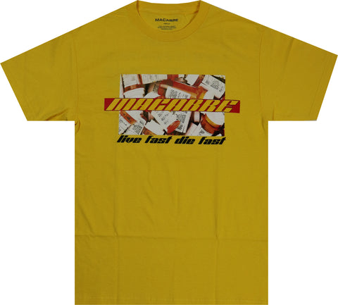 BIG PHARMA T-SHIRT (YELLOW)
