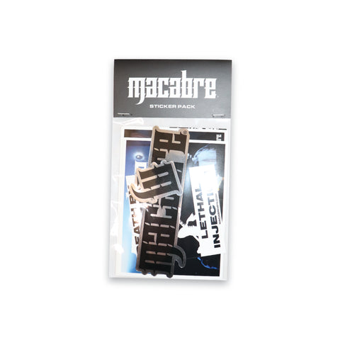 MACABRE STICKER PACK ISSUE 1