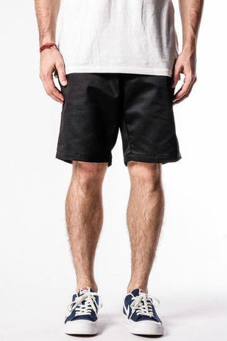 Rustic Dime Workwear Chino Black Shorts