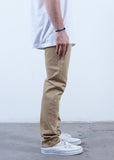 Rustic Dime Slim Fit Khaki Denim Jeans