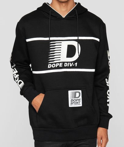 Dope Apex Pullover in Black
