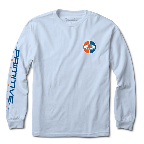 Primitive Authentic Long Sleeve Light Blue T-Shirt