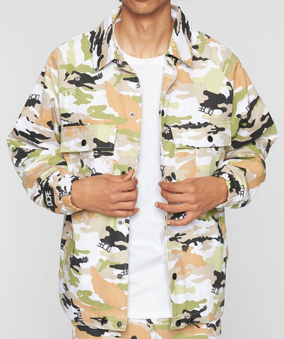 Dope Sateen Camo Jacket
