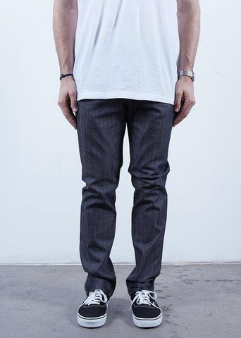 Rustic Dime Slim Fit Cement Grey Denim Jeans