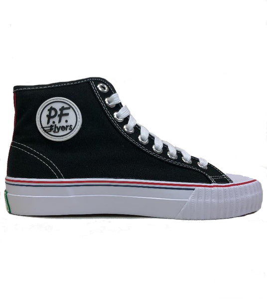 PF Flyers Center Hi Black Shoes