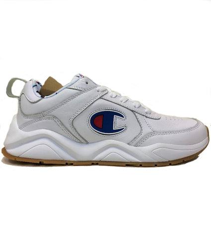 Champion 93 Eighteen White Sneakers Shoes