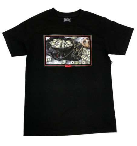 DGK Reserve Black T-Shirt