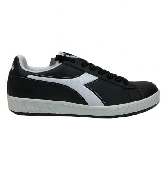 Diadora Game P Black Sneaker Shoes