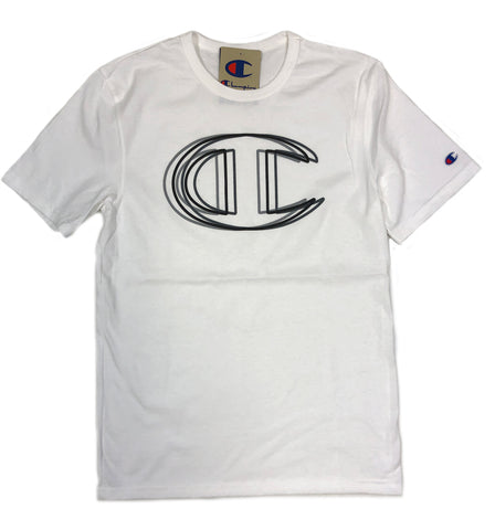 Champion Heritage Big C-Logo White T-Shirt