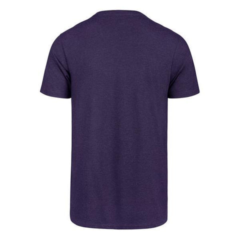 47 Brand Los Angeles Lakers Wordmark Purple T-Shirt