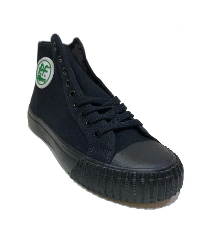 PF Flyers Sandlot Center Hi Black Shoes