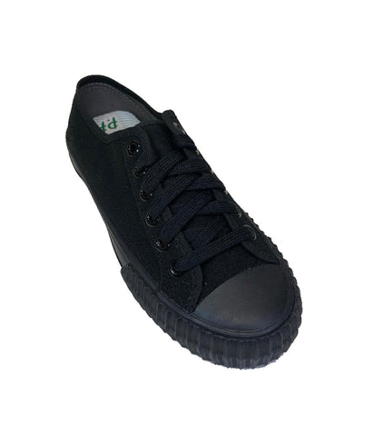 PF Flyers Sandlot Center Lo Black Shoes