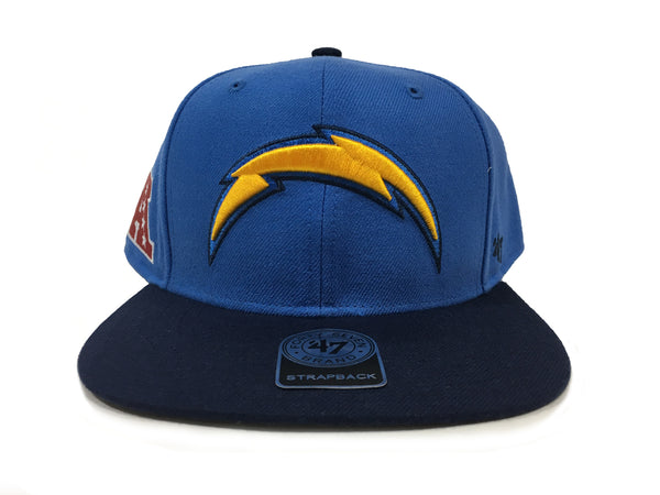 47 Brand San Diego Chargers Super Shot Two Tone Captain Blue Snapback Hat